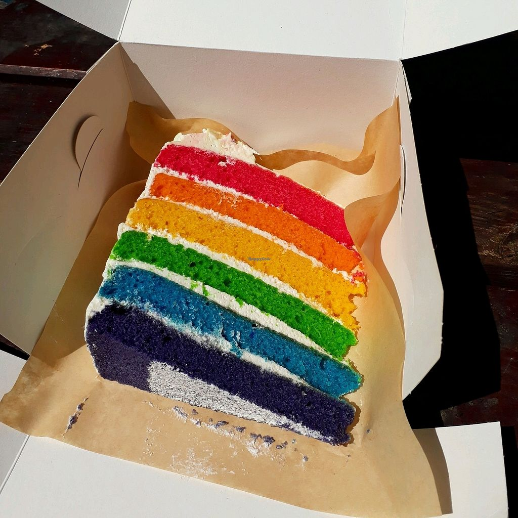 "Photo of Vida Bakery  by <a href=""/members/profile/LauraMu"">LauraMu</a> <br/>Rainbow cake <br/> January 5, 2018  - <a href='/contact/abuse/image/84964/343332'>Report</a>"