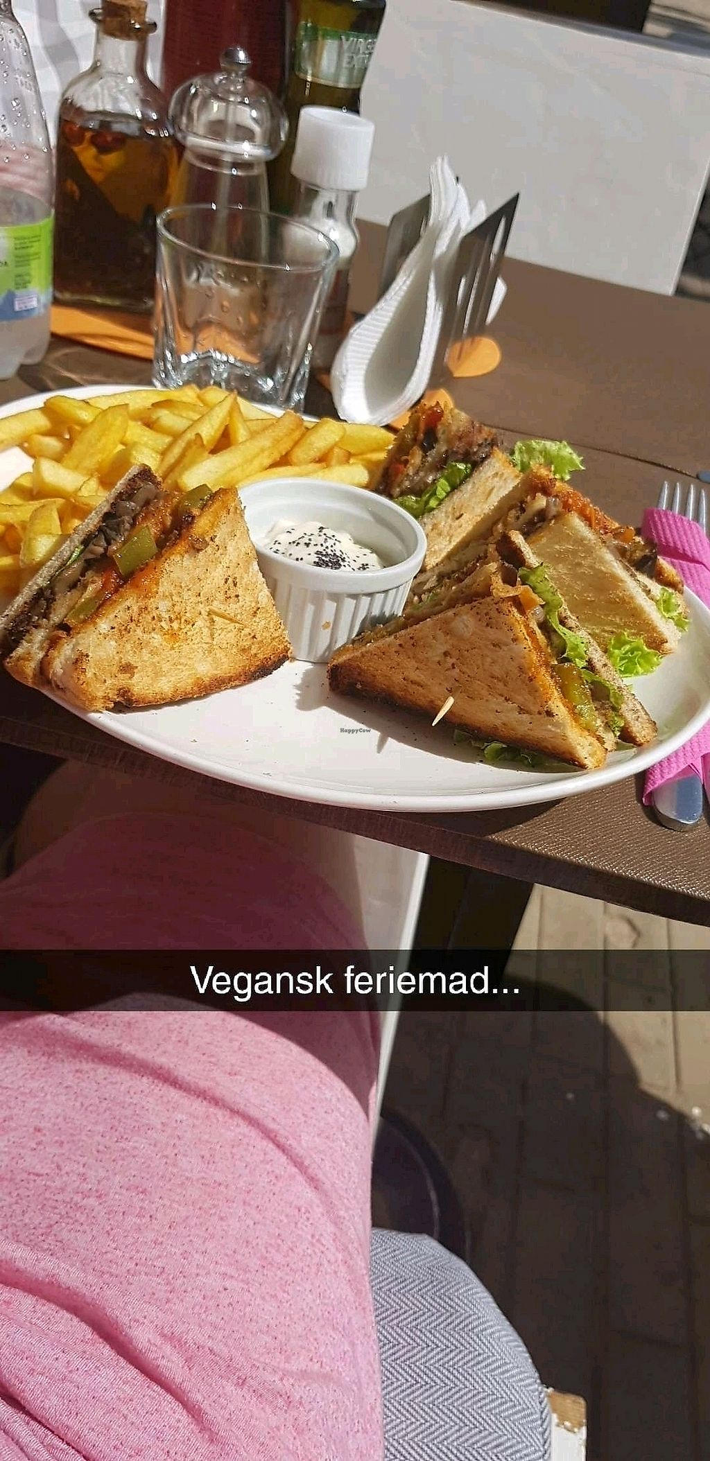 """Photo of By Valeria  by <a href=""""/members/profile/AnnikaHN"""">AnnikaHN</a> <br/>Vegan club sandwich <br/> January 11, 2018  - <a href='/contact/abuse/image/84967/345432'>Report</a>"""