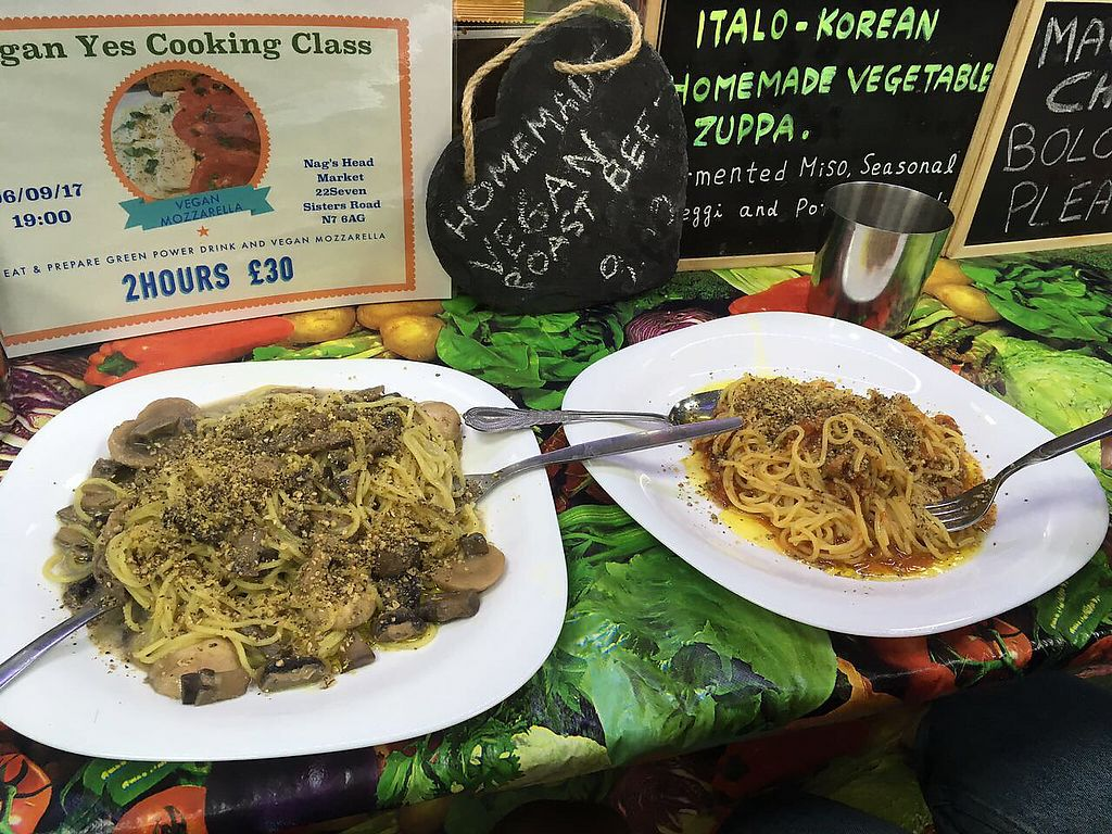 "Photo of Vegan Yes - Nag's Head Market  by <a href=""/members/profile/amycaneo"">amycaneo</a> <br/>best vegan spaghetti ever  <br/> August 7, 2017  - <a href='/contact/abuse/image/84978/290226'>Report</a>"