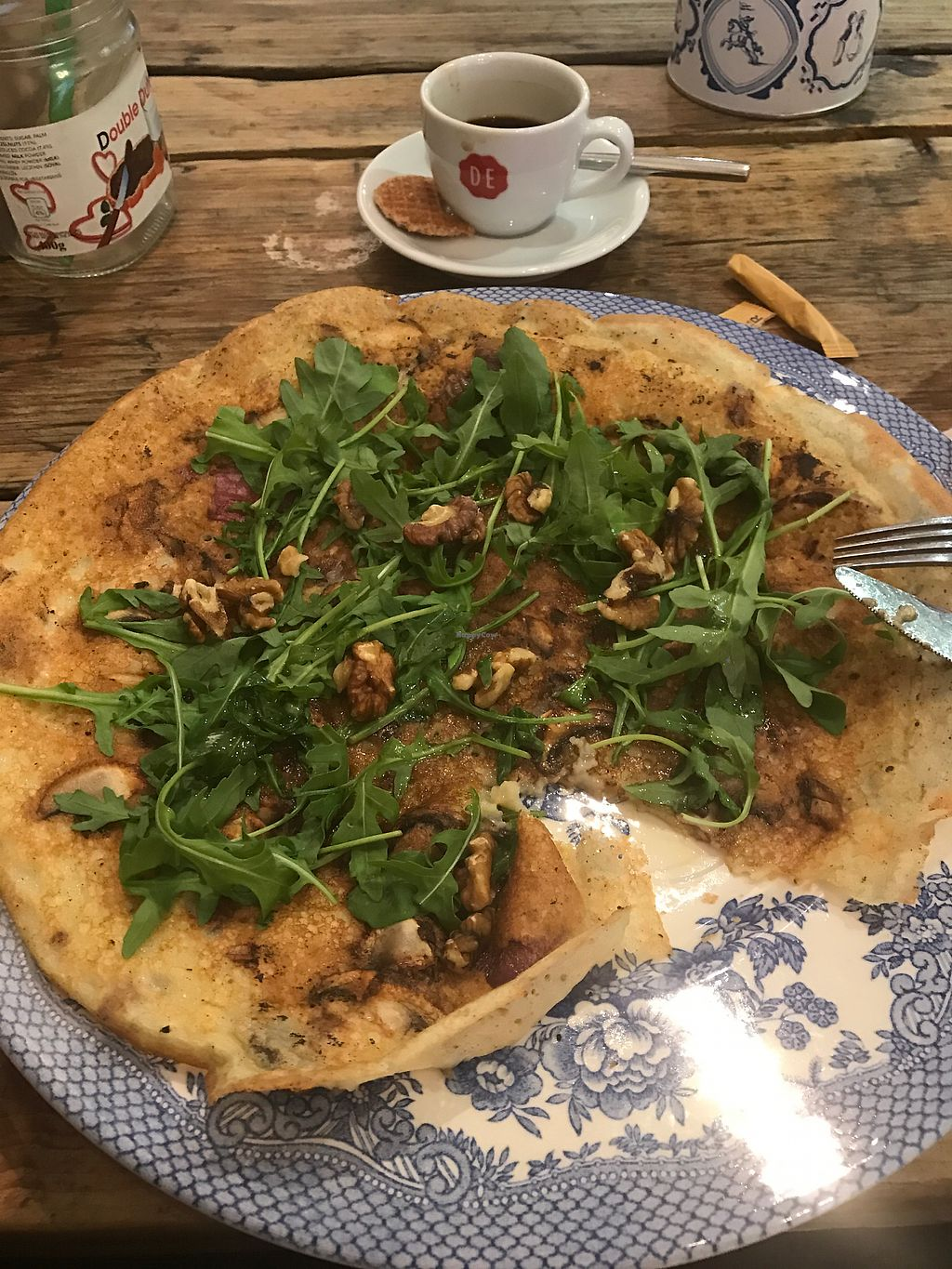 """Photo of Double Dutch Pancake House  by <a href=""""/members/profile/LynnCVoss"""">LynnCVoss</a> <br/>Vegan French pancake.  <br/> September 21, 2017  - <a href='/contact/abuse/image/85028/306772'>Report</a>"""