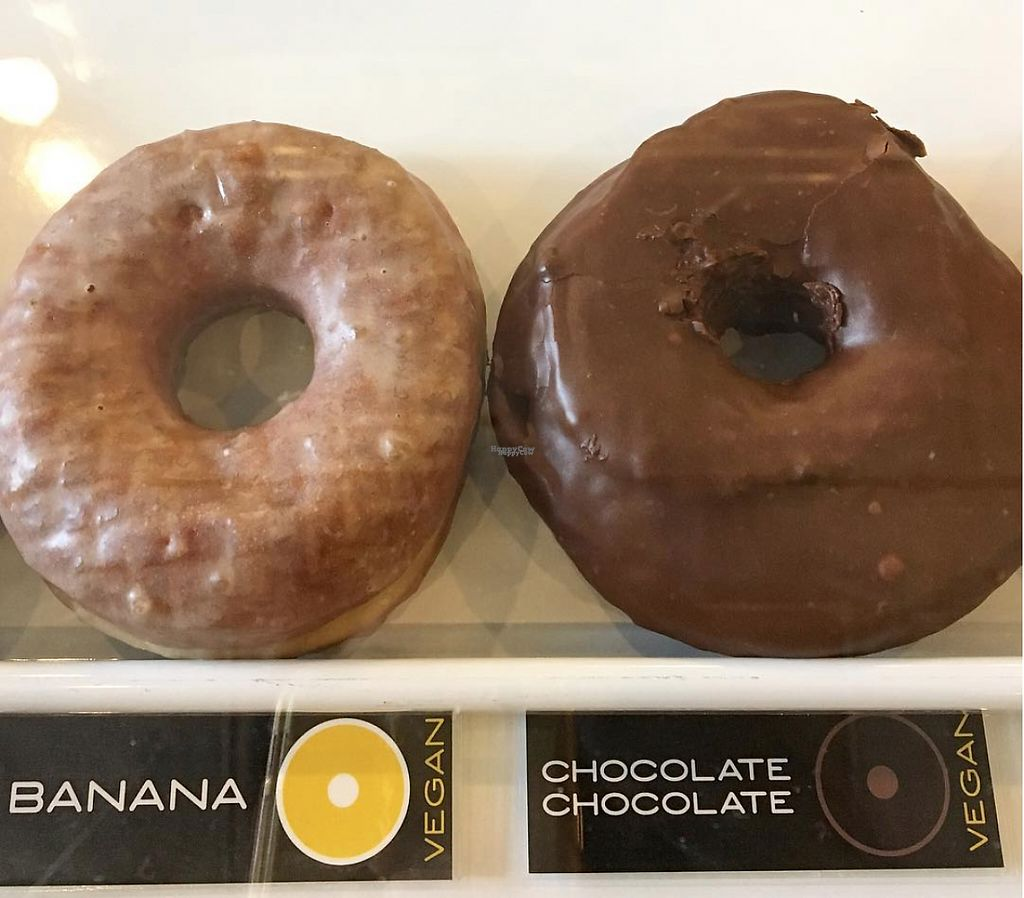 """Photo of Doughnut Plant  by <a href=""""/members/profile/BriggitteJ"""">BriggitteJ</a> <br/>Marked Vegan options!  <br/> January 16, 2017  - <a href='/contact/abuse/image/85029/212522'>Report</a>"""