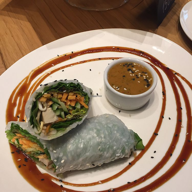 """Photo of Fresh - Patriarshih  by <a href=""""/members/profile/pjp"""">pjp</a> <br/>smoked tofu sushi with peanut sauce <br/> July 14, 2017  - <a href='/contact/abuse/image/85034/280177'>Report</a>"""