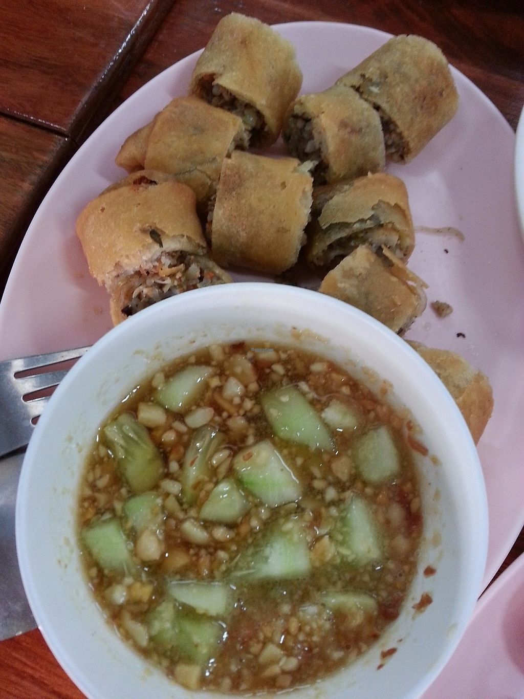 """Photo of Pang Vegetarian  by <a href=""""/members/profile/KimmyLuangsaengtham"""">KimmyLuangsaengtham</a> <br/>spring rolls <br/> January 5, 2017  - <a href='/contact/abuse/image/85050/208259'>Report</a>"""