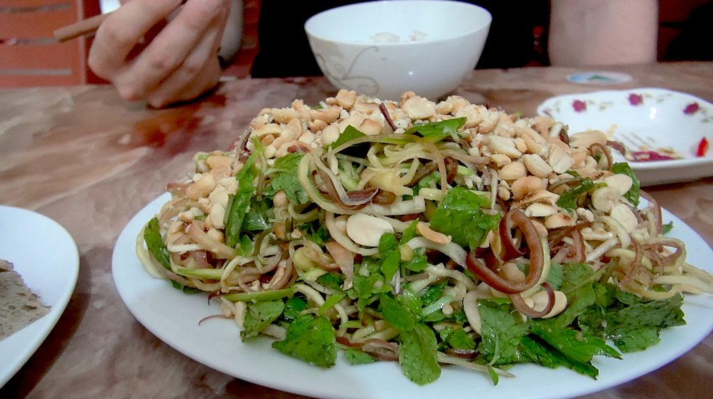"""Photo of An Lac  by <a href=""""/members/profile/TroyNguyen"""">TroyNguyen</a> <br/>Banana flower salad. Fresh and so refreshing. Great big portions at an unbeatable price <br/> June 22, 2017  - <a href='/contact/abuse/image/85060/272138'>Report</a>"""