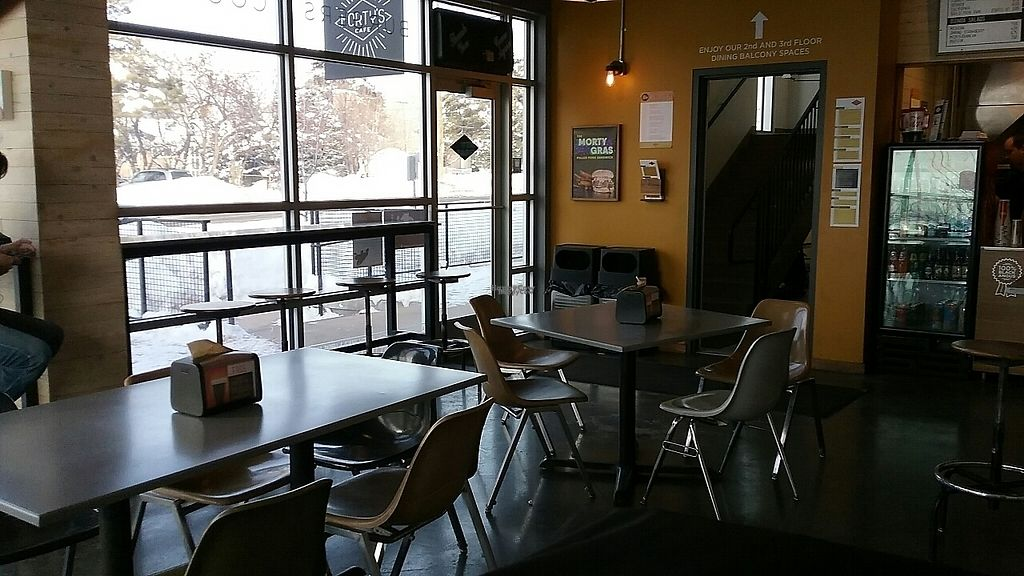 """Photo of Morty's Cafe  by <a href=""""/members/profile/VegHead12%3A34"""">VegHead12:34</a> <br/>main dining area  <br/> January 30, 2017  - <a href='/contact/abuse/image/85099/219686'>Report</a>"""
