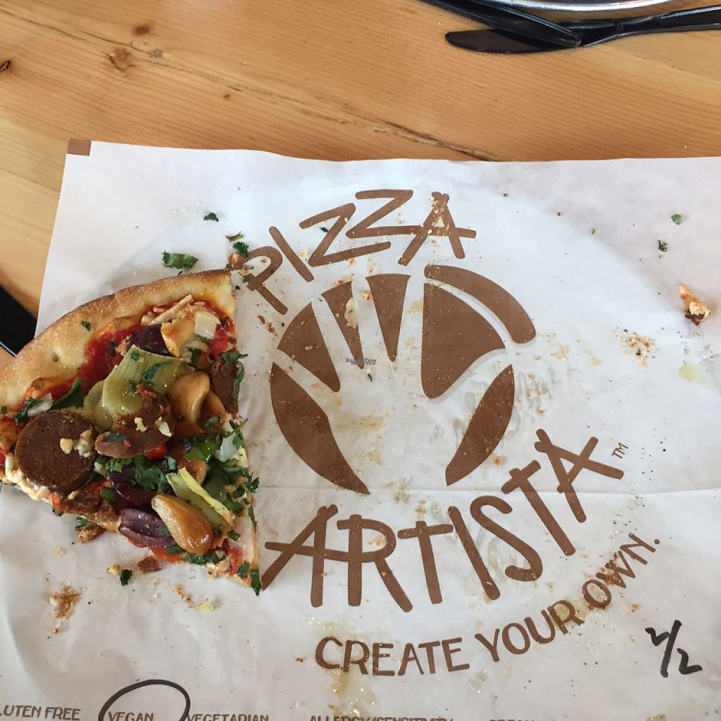 """Photo of Pizza Artista  by <a href=""""/members/profile/NatalieSaslow"""">NatalieSaslow</a> <br/>pizza Artista  <br/> January 25, 2017  - <a href='/contact/abuse/image/85111/216812'>Report</a>"""