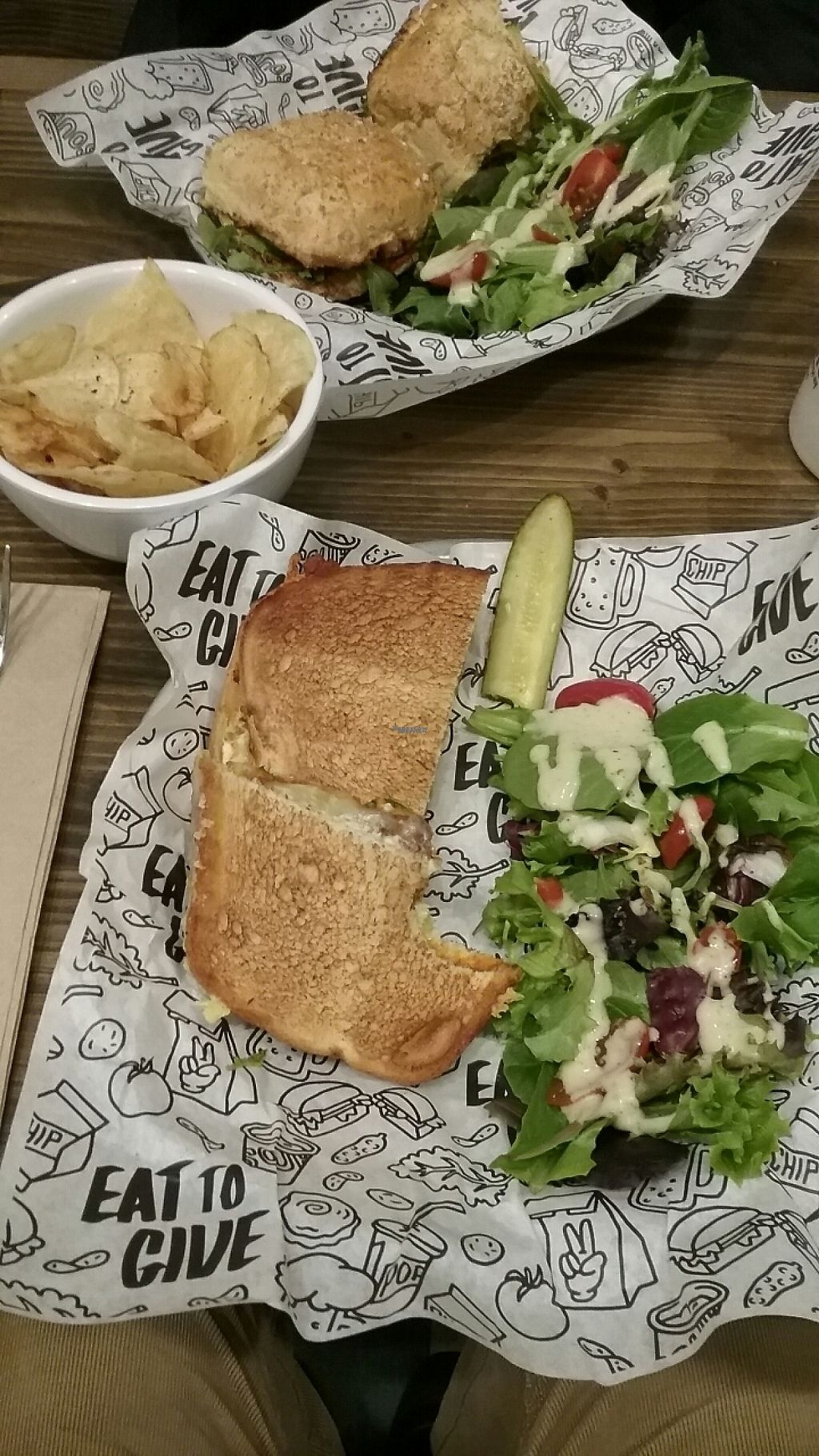 """Photo of Even Stevens Sandwiches  by <a href=""""/members/profile/VegHead12%3A34"""">VegHead12:34</a> <br/>jp grilled cheese with soyrizo  <br/> January 12, 2017  - <a href='/contact/abuse/image/85119/211273'>Report</a>"""