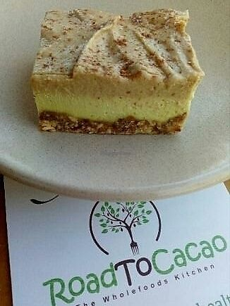 "Photo of CLOSED: Road to Cacao  by <a href=""/members/profile/Seapanda"">Seapanda</a> <br/>Turmeric Latte slice <br/> June 29, 2017  - <a href='/contact/abuse/image/85164/274576'>Report</a>"