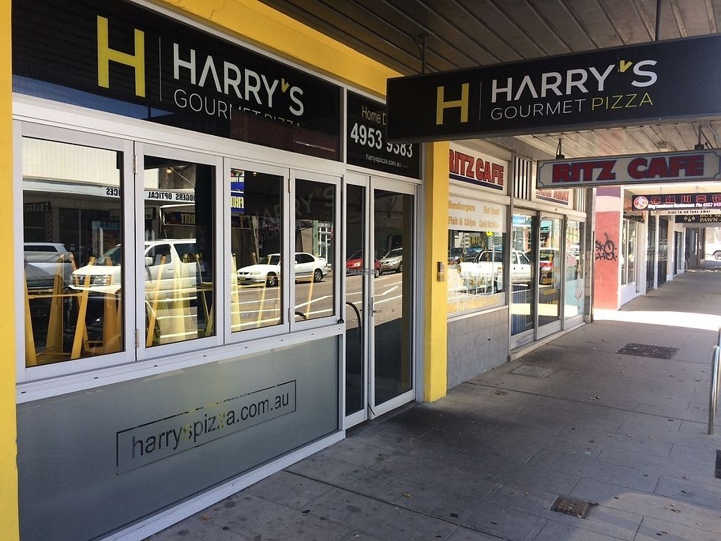 """Photo of Harry's Gourmet Pizza  by <a href=""""/members/profile/HarrysPizza"""">HarrysPizza</a> <br/>Newcastle's favourite vegan pizza shop <br/> January 8, 2017  - <a href='/contact/abuse/image/85170/209395'>Report</a>"""