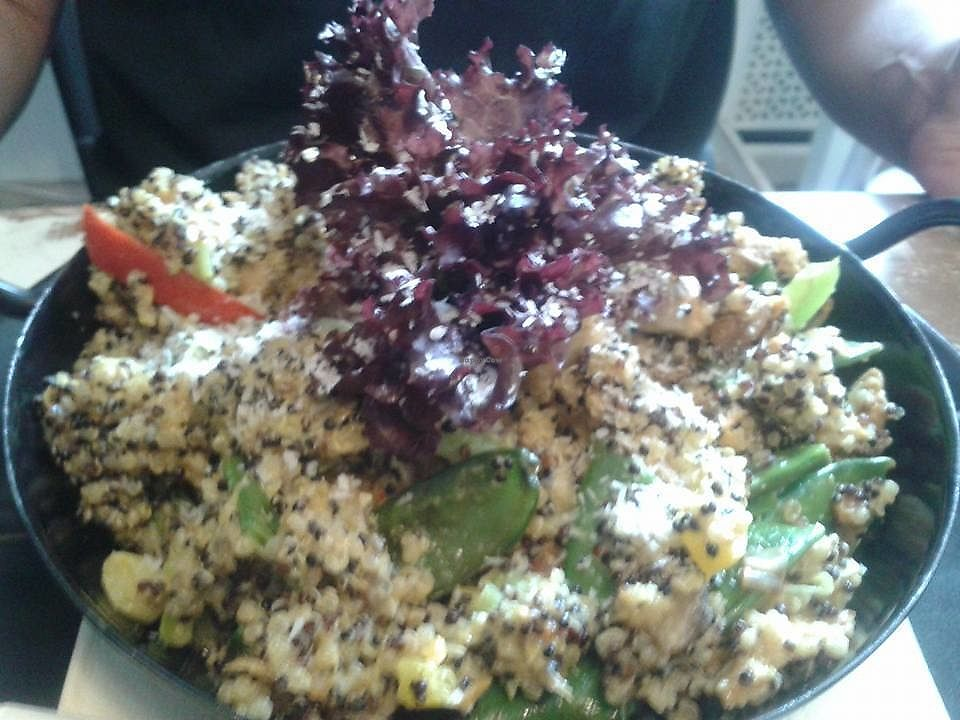 """Photo of Veggiezz - Alserbachstr  by <a href=""""/members/profile/StaceyStark"""">StaceyStark</a> <br/>The green curry coconut quinoa. Very tasty (the man LOVED it) <br/> July 26, 2017  - <a href='/contact/abuse/image/85190/285042'>Report</a>"""