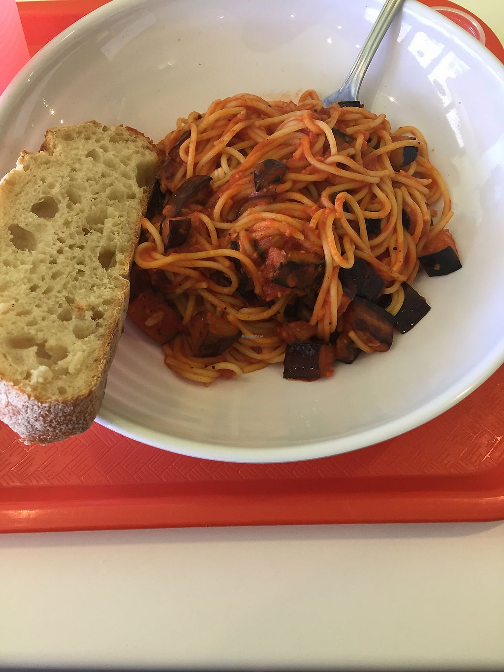"""Photo of Mama Says  by <a href=""""/members/profile/R-MV"""">R-MV</a> <br/>Spaghetti with eggplant  <br/> October 10, 2017  - <a href='/contact/abuse/image/85209/314094'>Report</a>"""