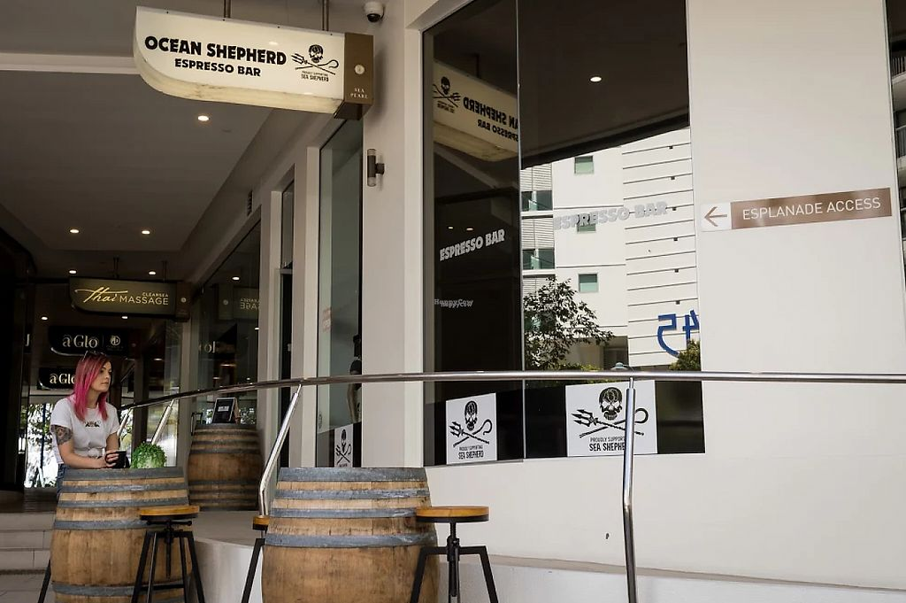 """Photo of Ocean Shepherd Espresso Bar  by <a href=""""/members/profile/RyleaMcglusky"""">RyleaMcglusky</a> <br/>Outside  <br/> January 27, 2017  - <a href='/contact/abuse/image/85217/217980'>Report</a>"""
