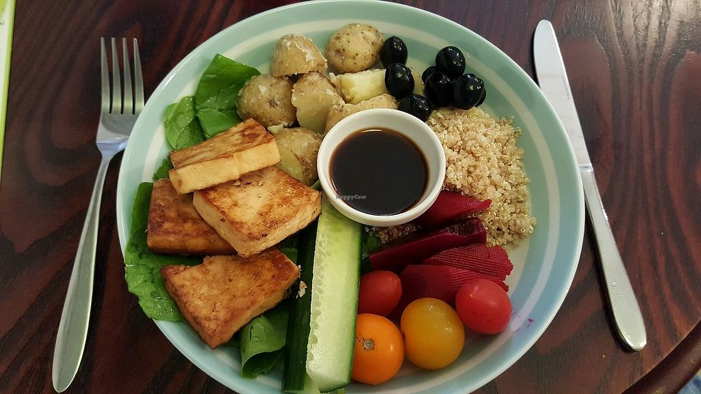 """Photo of Veggie Vibez  by <a href=""""/members/profile/Clare"""">Clare</a> <br/>Buddha Bowl with tofu and sweet soy sauce <br/> September 4, 2017  - <a href='/contact/abuse/image/85229/300903'>Report</a>"""