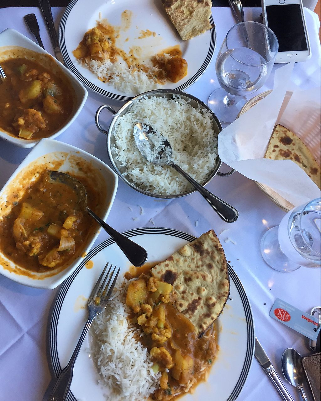 """Photo of Nirvana Indian Kitchen  by <a href=""""/members/profile/Lizziebenson"""">Lizziebenson</a> <br/>Potato and cauliflower curry of the vegan menu  <br/> August 28, 2017  - <a href='/contact/abuse/image/85239/298266'>Report</a>"""