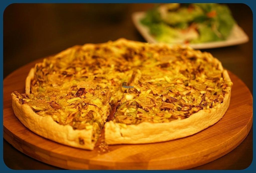 "Photo of Veganel  by <a href=""/members/profile/Veganel"">Veganel</a> <br/>Quiche with Salad <br/> January 22, 2017  - <a href='/contact/abuse/image/85242/215146'>Report</a>"