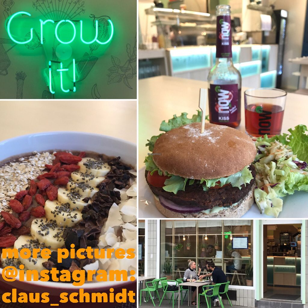 "Photo of Veganel  by <a href=""/members/profile/ClausSchmidt"">ClausSchmidt</a> <br/>20170518 Redbean Burger & Açai Bowl <br/> May 18, 2017  - <a href='/contact/abuse/image/85242/260040'>Report</a>"
