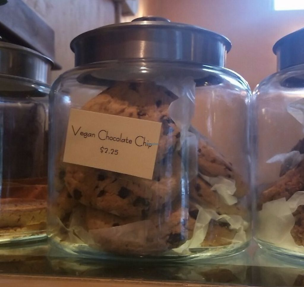 """Photo of Hideaway Bakery  by <a href=""""/members/profile/CorissaMarie"""">CorissaMarie</a> <br/>One of the many vegan bakery items  <br/> January 8, 2017  - <a href='/contact/abuse/image/85244/219099'>Report</a>"""