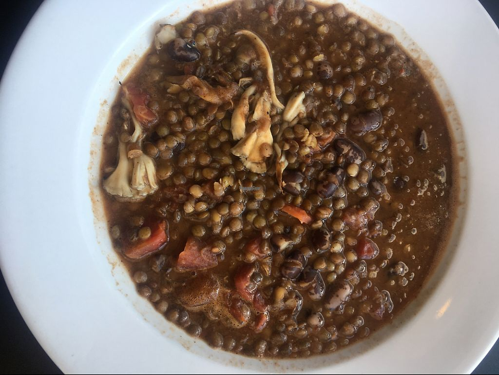 "Photo of Ground Breaker Gastropub   by <a href=""/members/profile/Arthousebill"">Arthousebill</a> <br/>lobster mushroom and lentil chili <br/> January 10, 2017  - <a href='/contact/abuse/image/85275/210389'>Report</a>"