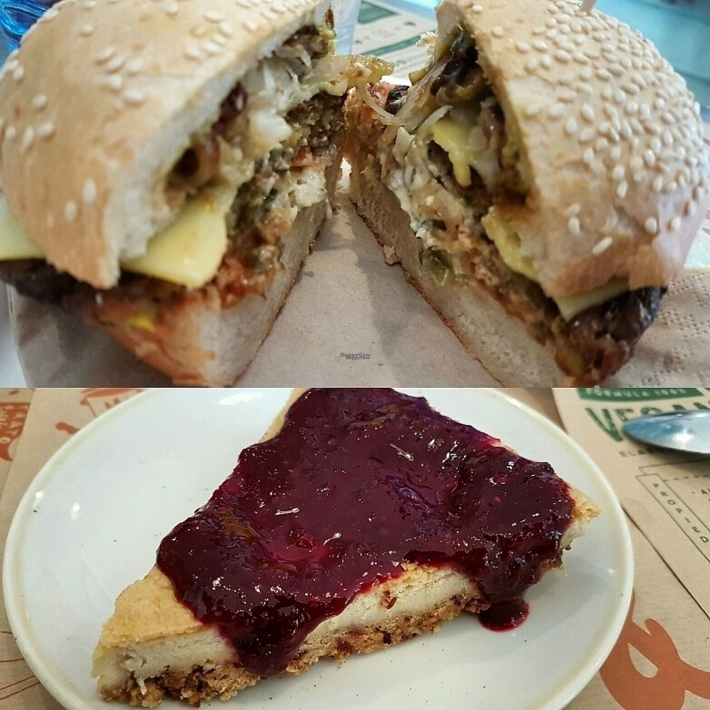 """Photo of Cebrian  by <a href=""""/members/profile/Gergely_B"""">Gergely_B</a> <br/>Mexican burger and Cheesecake <br/> January 9, 2017  - <a href='/contact/abuse/image/85280/210113'>Report</a>"""