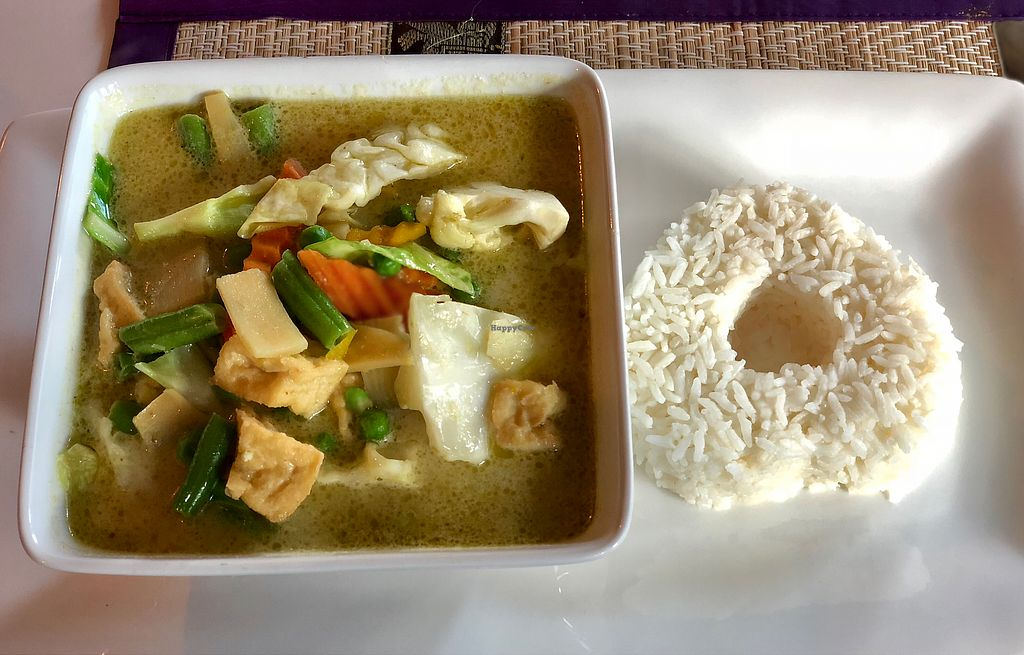 """Photo of Thai Fusion  by <a href=""""/members/profile/JudePiper"""">JudePiper</a> <br/>Tofu green curry <br/> March 16, 2018  - <a href='/contact/abuse/image/85299/371187'>Report</a>"""