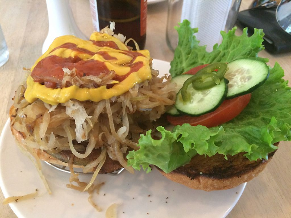 """Photo of Luv Burger  by <a href=""""/members/profile/Dancingbarefoot"""">Dancingbarefoot</a> <br/>onion melt <br/> February 11, 2017  - <a href='/contact/abuse/image/85306/225096'>Report</a>"""