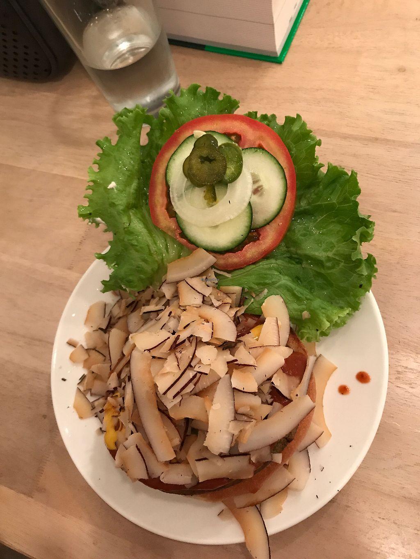 "Photo of Luv Burger  by <a href=""/members/profile/eliestafeliz"">eliestafeliz</a> <br/>Coco Bacon <br/> August 3, 2017  - <a href='/contact/abuse/image/85306/288122'>Report</a>"