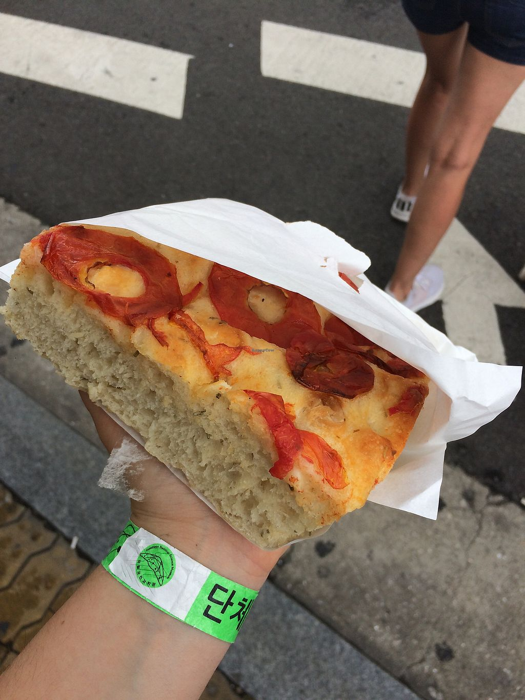 """Photo of The Bakers Table - 더베이커스테이블  by <a href=""""/members/profile/ellieallan"""">ellieallan</a> <br/>focaccia tomato bread  <br/> July 16, 2017  - <a href='/contact/abuse/image/85311/280920'>Report</a>"""