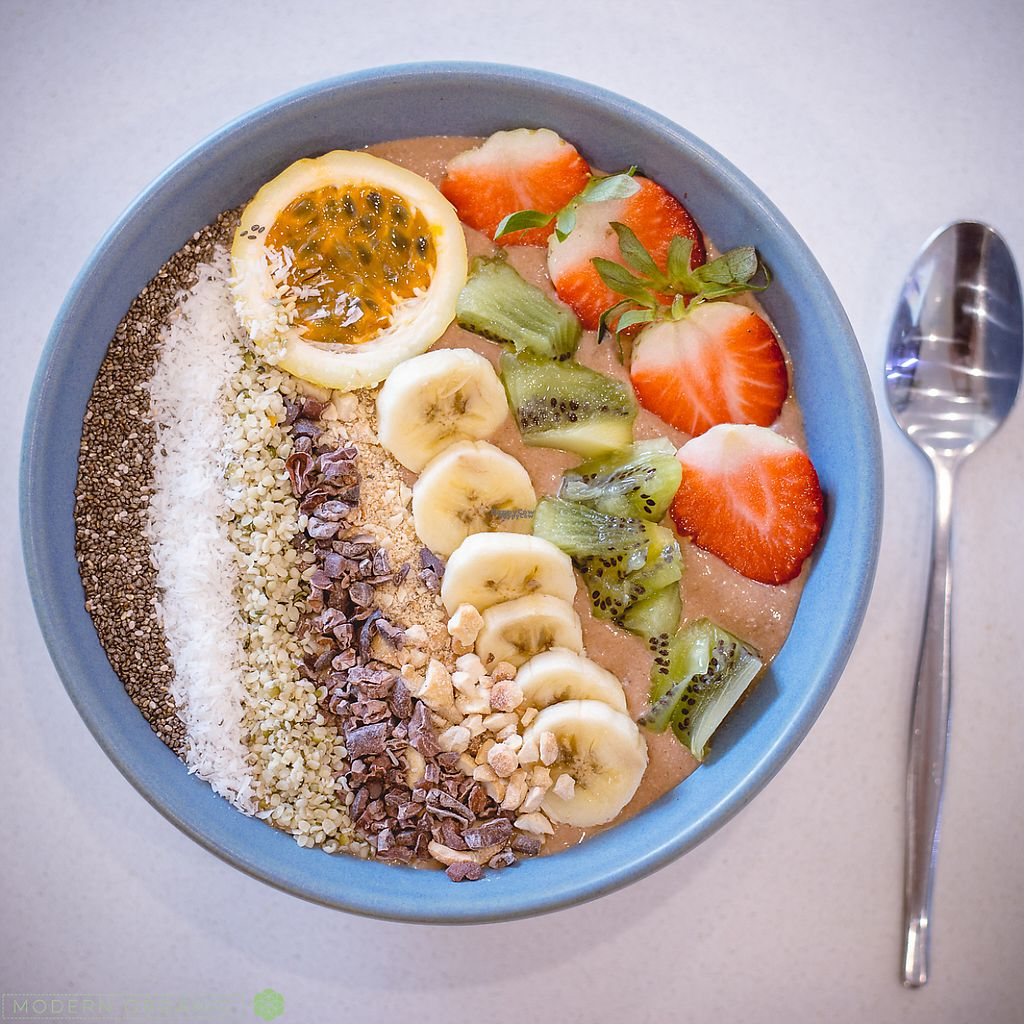 "Photo of Modern Organic  by <a href=""/members/profile/Vegkay"">Vegkay</a> <br/>smoothie bowl- vegan  <br/> January 23, 2017  - <a href='/contact/abuse/image/85316/215469'>Report</a>"