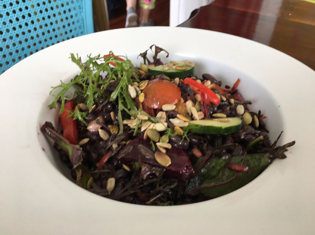 "Photo of Villa 23 Cafe  by <a href=""/members/profile/Yolanda"">Yolanda</a> <br/>black bean salad <br/> March 31, 2017  - <a href='/contact/abuse/image/85319/242907'>Report</a>"