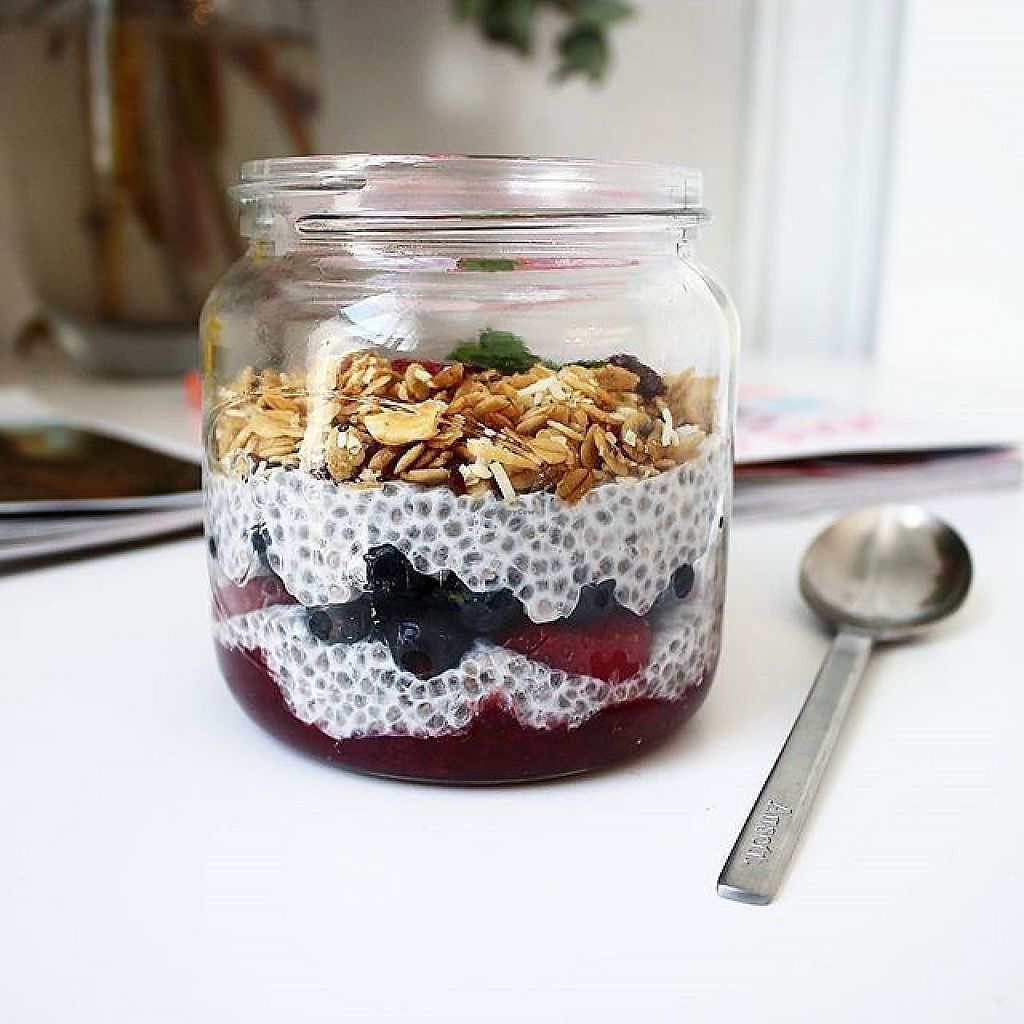 "Photo of Villa 23 Cafe  by <a href=""/members/profile/rosie.smith"">rosie.smith</a> <br/>vegan chia pudding with toasted granola  <br/> May 19, 2017  - <a href='/contact/abuse/image/85319/260290'>Report</a>"