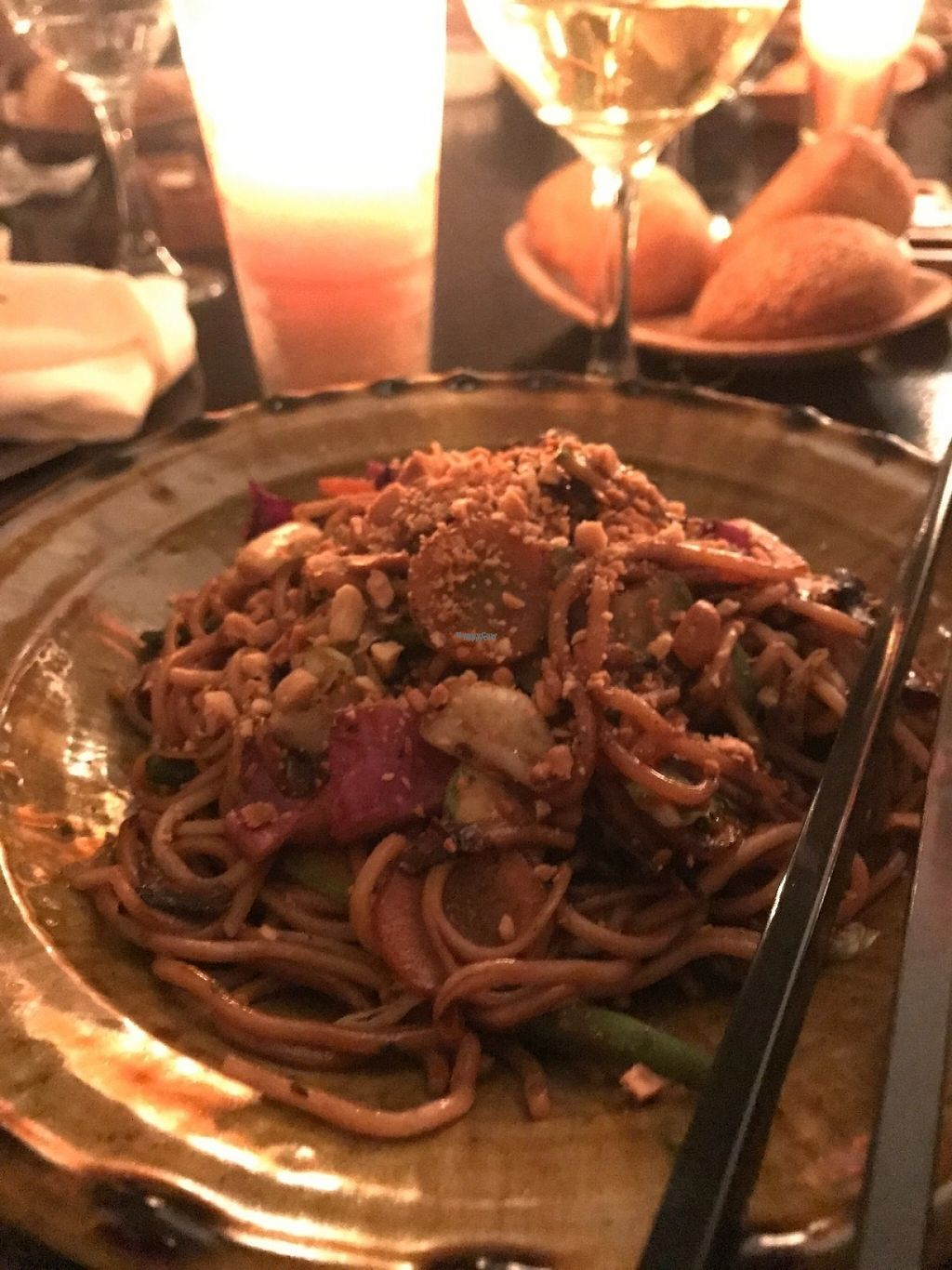 """Photo of Bo & Zin Marrakech  by <a href=""""/members/profile/YasmineBerrahou"""">YasmineBerrahou</a> <br/>Veggie noodles with amazing peanut sauce !  <br/> February 13, 2017  - <a href='/contact/abuse/image/85331/226203'>Report</a>"""
