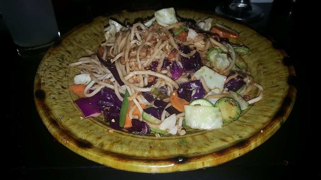 """Photo of Bo & Zin Marrakech  by <a href=""""/members/profile/NicNewbs"""">NicNewbs</a> <br/>veg & noodle main  <br/> May 26, 2017  - <a href='/contact/abuse/image/85331/262812'>Report</a>"""