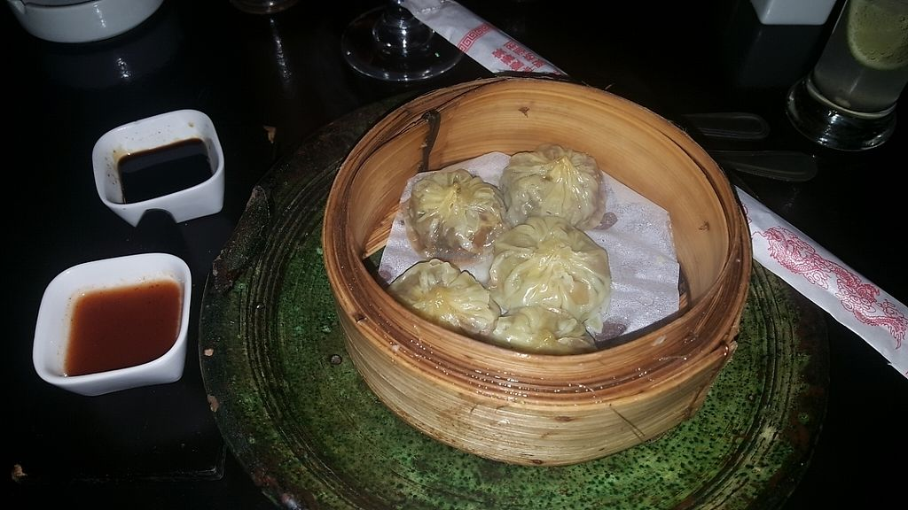 """Photo of Bo & Zin Marrakech  by <a href=""""/members/profile/NicNewbs"""">NicNewbs</a> <br/>vegetarian dim sum <br/> May 26, 2017  - <a href='/contact/abuse/image/85331/262813'>Report</a>"""