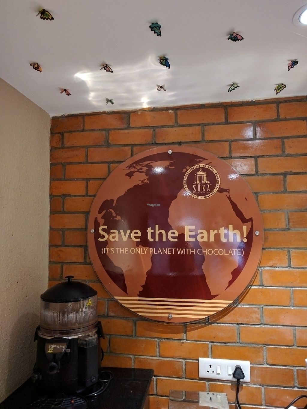 """Photo of Zuka Cake and Dessert Shop  by <a href=""""/members/profile/Floyd205"""">Floyd205</a> <br/>yeah. Save the earth!!! <br/> January 11, 2017  - <a href='/contact/abuse/image/85342/210741'>Report</a>"""