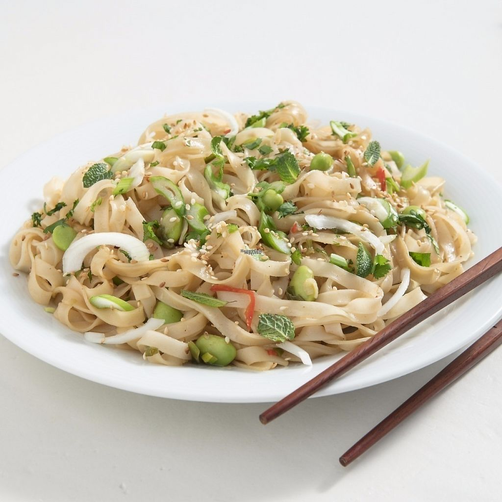 """Photo of Crudo  by <a href=""""/members/profile/CRUDO"""">CRUDO</a> <br/>Japanese Rice Noodles Ζεστά noodles ρυζιού με φασόλια edamame και σάλτσα απο tamarind και ginger <br/> January 10, 2017  - <a href='/contact/abuse/image/85347/210371'>Report</a>"""