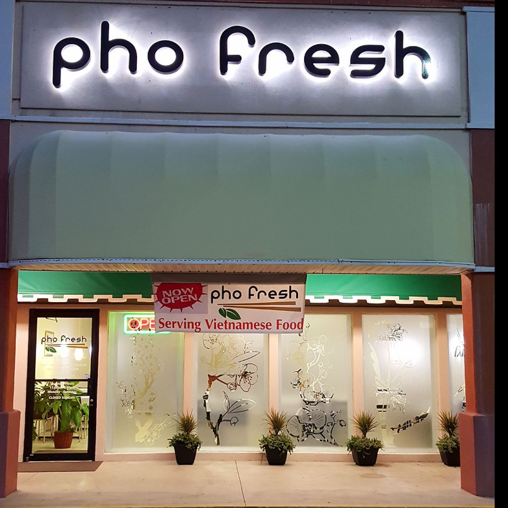 """Photo of Pho Fresh  by <a href=""""/members/profile/Ktn84"""">Ktn84</a> <br/>front of the restaurant  <br/> January 14, 2017  - <a href='/contact/abuse/image/85361/211818'>Report</a>"""