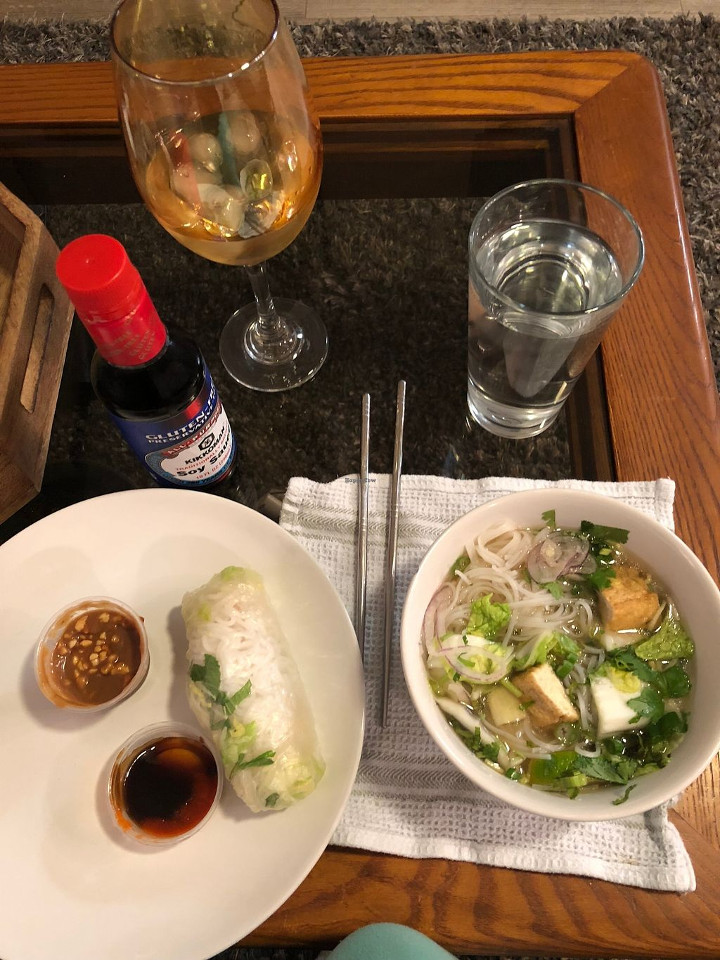 """Photo of Pho Fresh  by <a href=""""/members/profile/TaylorRenfree"""">TaylorRenfree</a> <br/>I got takeout and it was so amazing!! The quality and quantity match up at Pho Fresh <br/> January 18, 2018  - <a href='/contact/abuse/image/85361/348057'>Report</a>"""