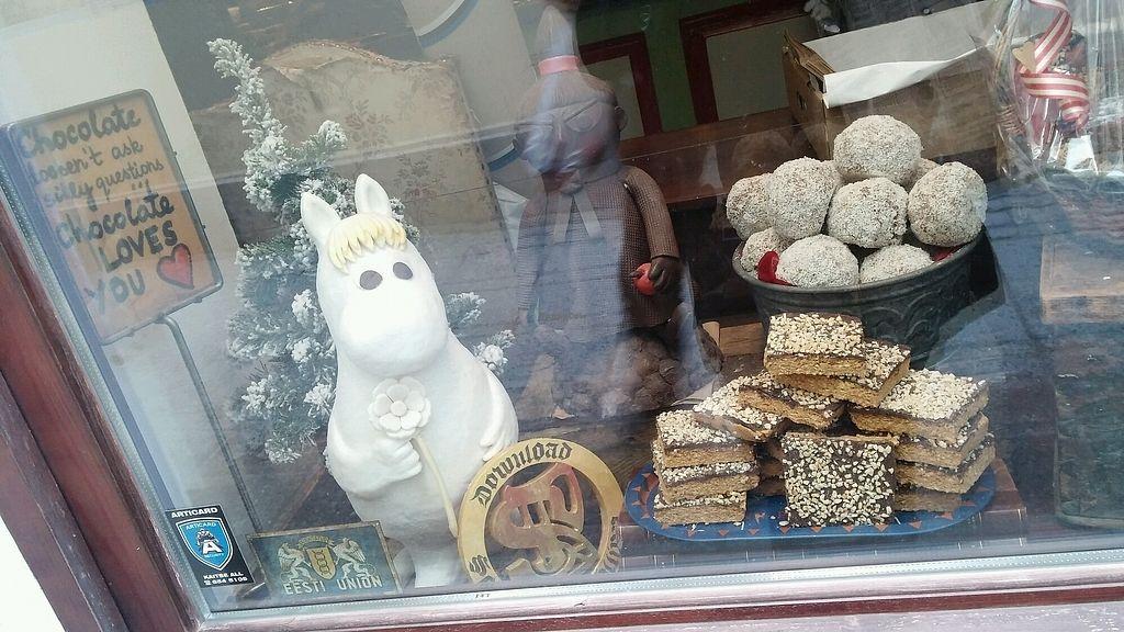 "Photo of Karu Talu Šokolaad   by <a href=""/members/profile/NHT"">NHT</a> <br/>Shop window <br/> February 16, 2018  - <a href='/contact/abuse/image/85402/360057'>Report</a>"