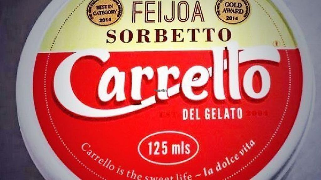 """Photo of Carrello del Gelato  by <a href=""""/members/profile/Fluffiness"""">Fluffiness</a> <br/>Award-winning Feijoa Sorbetto Vegan <br/> January 11, 2017  - <a href='/contact/abuse/image/85417/211230'>Report</a>"""
