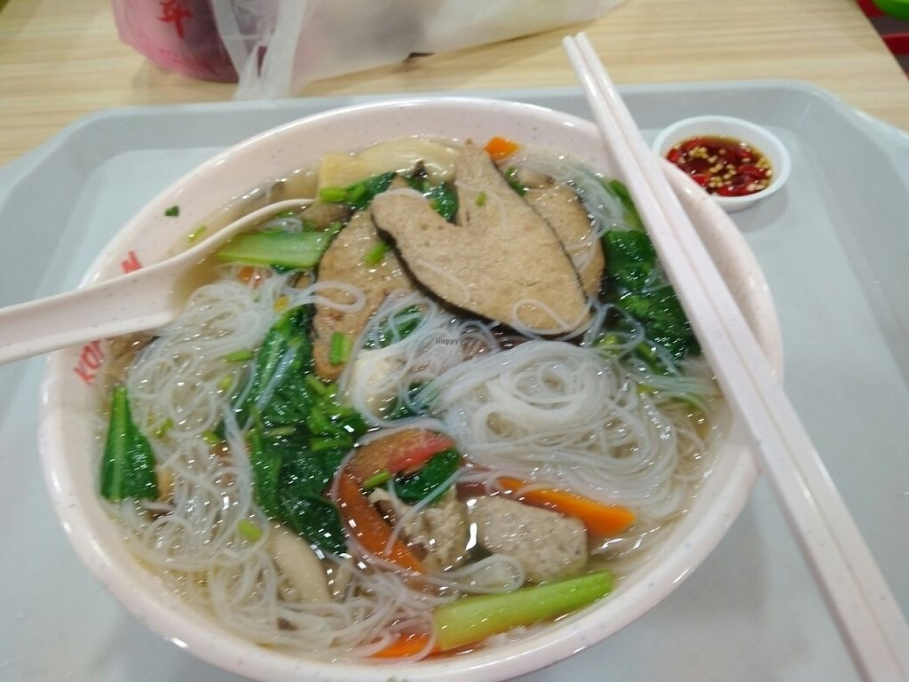 """Photo of Jia Le Yuan Vegetarian  by <a href=""""/members/profile/RichardLee"""">RichardLee</a> <br/>Sliced fish beehoon (opted no milk version) <br/> May 12, 2017  - <a href='/contact/abuse/image/85431/257986'>Report</a>"""