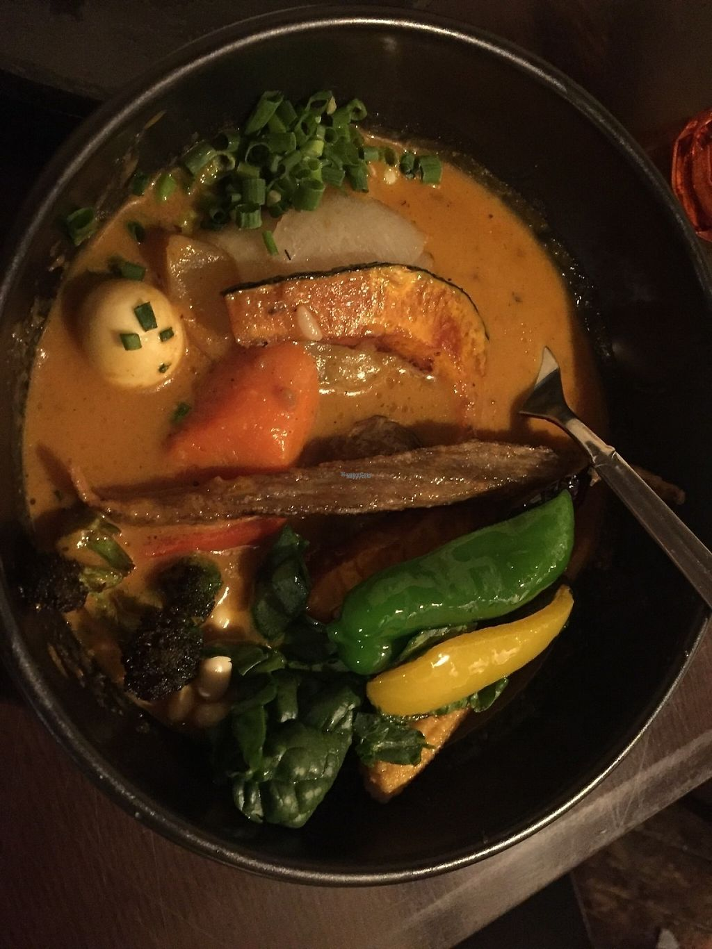 "Photo of Rojiura Curry Samurai  by <a href=""/members/profile/jpu"">jpu</a> <br/>20 veg curry soup <br/> January 12, 2017  - <a href='/contact/abuse/image/85433/211340'>Report</a>"