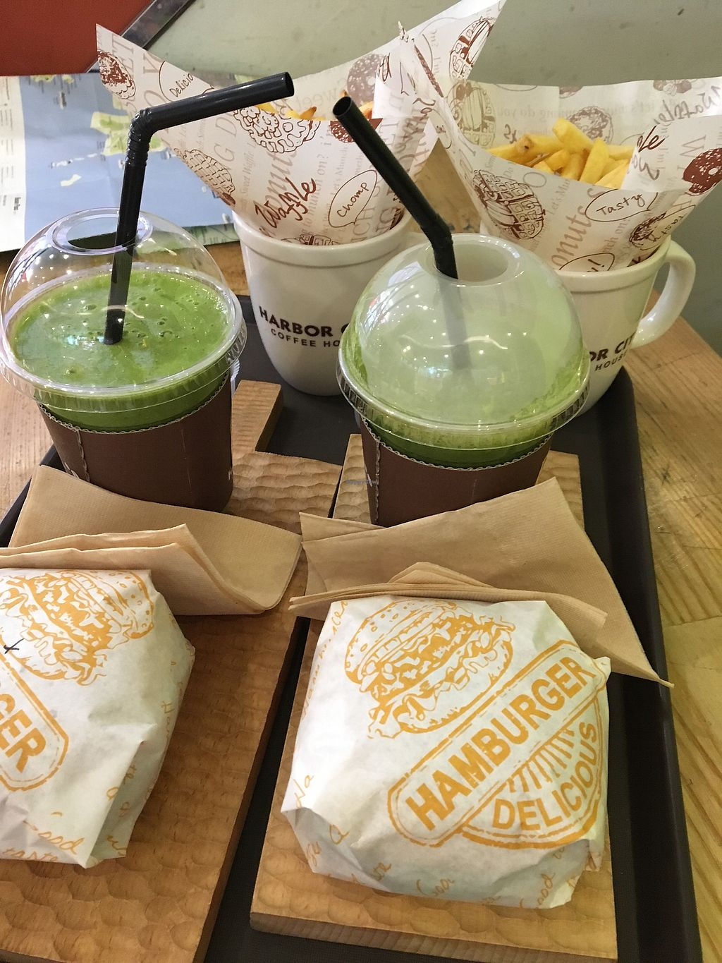 """Photo of Moomoo Burger & Smoothie  by <a href=""""/members/profile/NielsKrekt"""">NielsKrekt</a> <br/>Delicious <br/> September 27, 2017  - <a href='/contact/abuse/image/85434/308939'>Report</a>"""