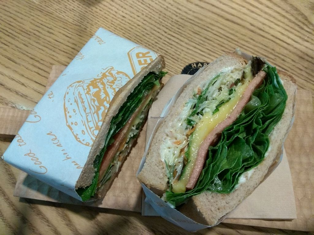 """Photo of Moomoo Burger & Smoothie  by <a href=""""/members/profile/GabbyR7"""">GabbyR7</a> <br/>sandwich  <br/> December 25, 2017  - <a href='/contact/abuse/image/85434/338954'>Report</a>"""