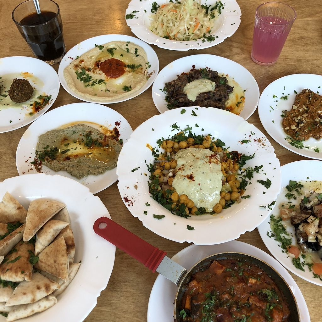 "Photo of Birona Hummus Bar  by <a href=""/members/profile/mcsnv"">mcsnv</a> <br/>Festin pour le brunch <br/> January 27, 2018  - <a href='/contact/abuse/image/85447/351585'>Report</a>"