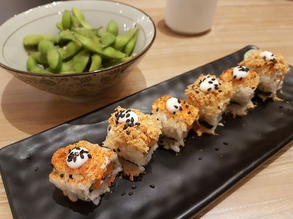 """Photo of Sushi Kitchen - Plaza Gurney  by <a href=""""/members/profile/Raycklim01%40gmail.com"""">Raycklim01@gmail.com</a> <br/>Gken sushi  <br/> May 18, 2017  - <a href='/contact/abuse/image/85510/259862'>Report</a>"""