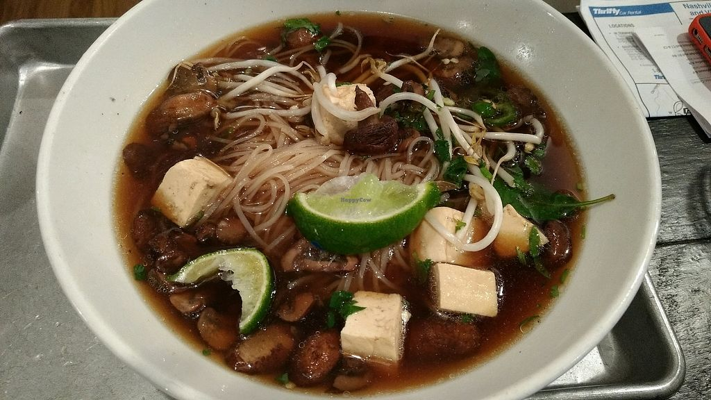 "Photo of Vui's Kitchen  by <a href=""/members/profile/bduboff"">bduboff</a> <br/>vegan pho <br/> September 5, 2017  - <a href='/contact/abuse/image/85540/301186'>Report</a>"