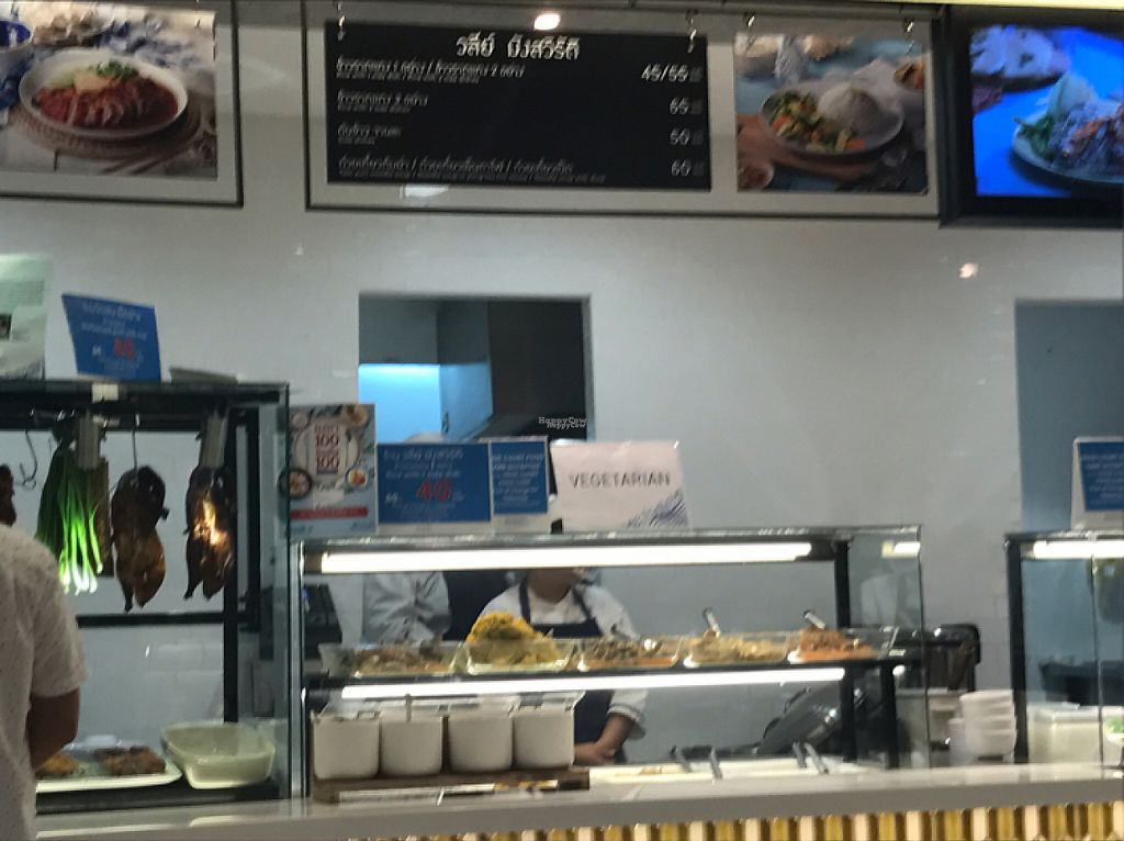 """Photo of CLOSED: Walee Vegetarian - Bluport Mall  by <a href=""""/members/profile/MissAshley"""">MissAshley</a> <br/>sign that show in english <br/> March 27, 2017  - <a href='/contact/abuse/image/85546/241673'>Report</a>"""
