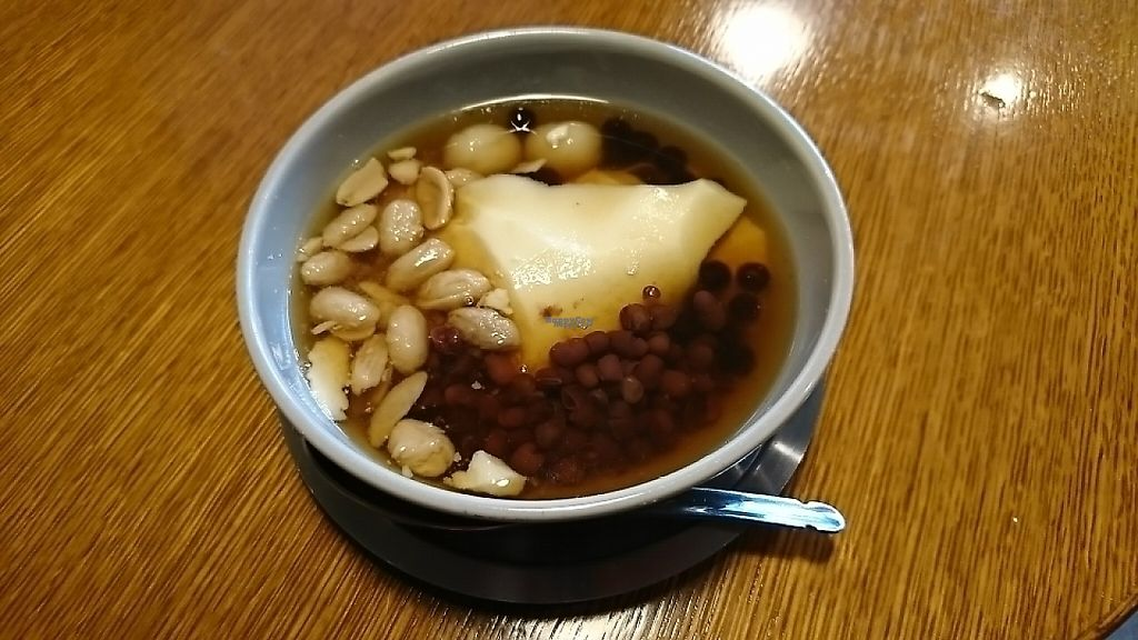 "Photo of Tokyo Mamehana Kobo  by <a href=""/members/profile/moka_a"">moka_a</a> <br/>Topped Douhua in brownsugar syrup. 4 kinds of topping are chosen, namely, Shiratama(rice-flour dumpling), Tapioca,  Red beans & Peanuts <br/> March 17, 2017  - <a href='/contact/abuse/image/85548/237653'>Report</a>"