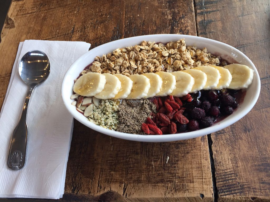 "Photo of Kale Me Crazy  by <a href=""/members/profile/TheTree"">TheTree</a> <br/>Acai Bowl <br/> January 16, 2017  - <a href='/contact/abuse/image/85562/212492'>Report</a>"