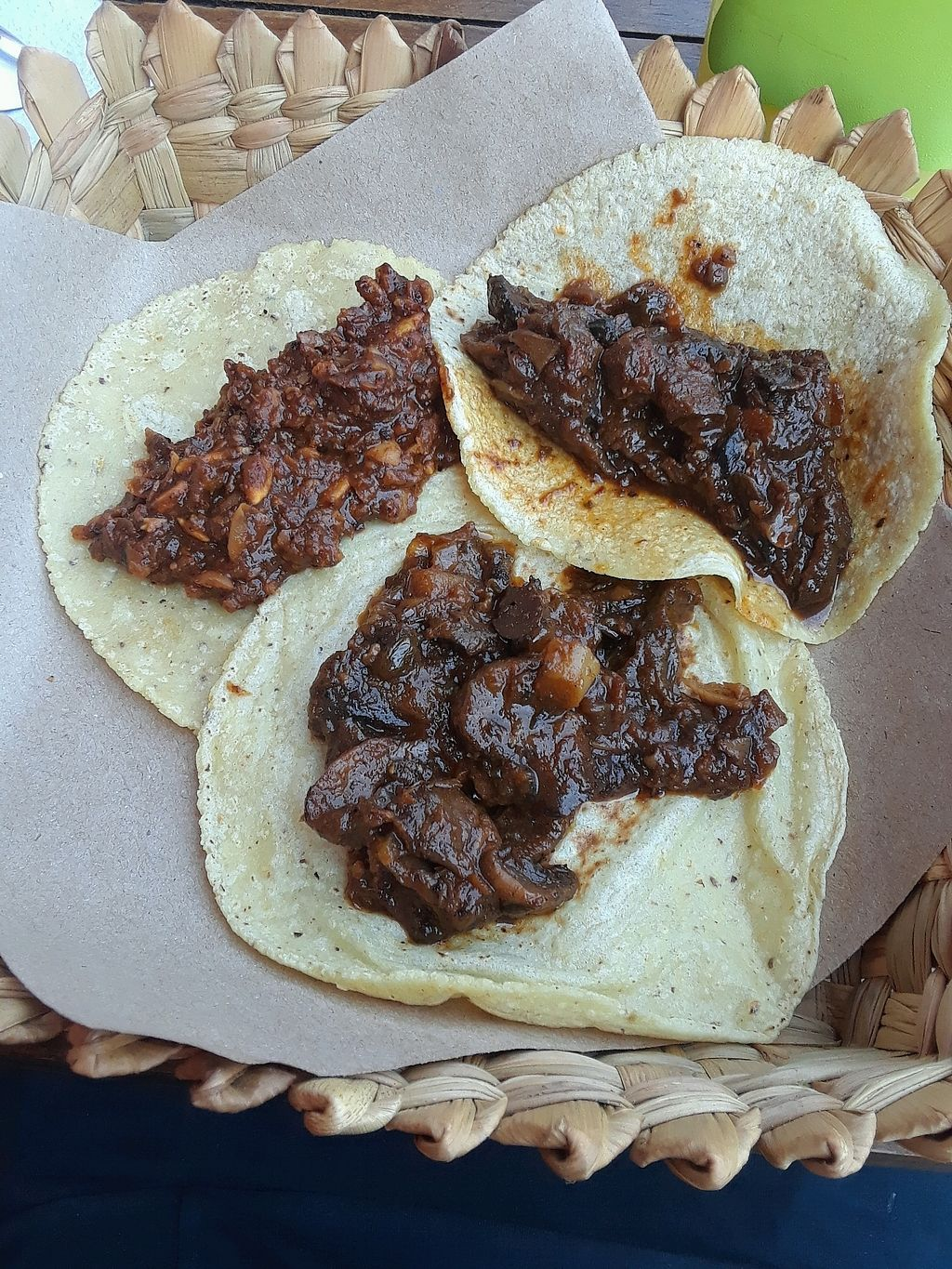 """Photo of Taqueria Entre Zankas  by <a href=""""/members/profile/Yona"""">Yona</a> <br/>The tacos before the added extras <br/> November 22, 2017  - <a href='/contact/abuse/image/85588/327980'>Report</a>"""